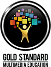 Gold Standard Multimedia Education Logo