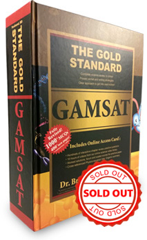 Gold Standard GAMSAT Preparation Book